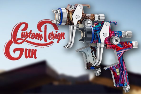 New: SATA Custom Design Gun